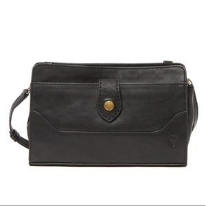 Frye Lucy Leather Crossbody Clutch Bag Purse